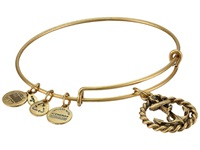 Alex And Ani Nautical Charm Bangle Rafaelian Gold Finish Bracelet