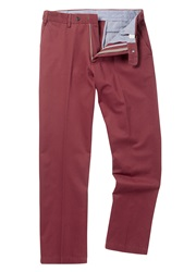 Skopes New Albany Casual Chino Trousers Ruby