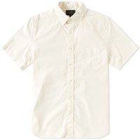 Beams Plus Short Sleeve Broadcloth Shirt White