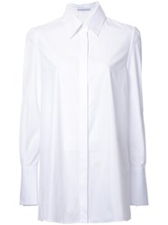 Ermanno Scervino Concealed Fastening Shirt White