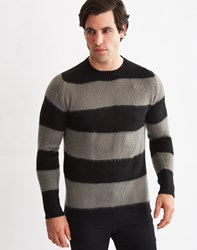 Only And Sons Mens Knitted Jumper Black