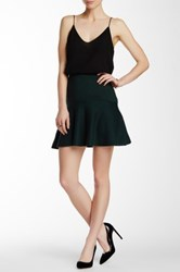 Cynthia Steffe Flounce Mini Skirt Green