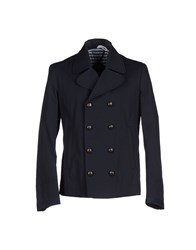 Officina 36 Suits And Jackets Blazers Men Dark Blue