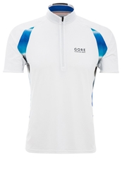 Gore Running Wear Air Print Sports Shirt White