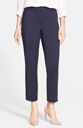 Women's Nordstrom Collection 'Veloria' Slim Ankle Pants Navy Night