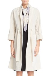 Lafayette 148 New York Women's Cristalyn Crinkle Trench