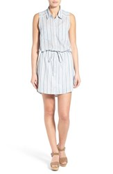 Women's Paige Denim 'Yvonne' Stripe Cotton Shirtdress