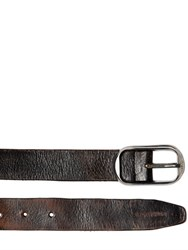 Dsquared Hand Washed Leather Belt