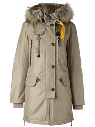 Parajumpers Multi Pocket Padded Coat Nude And Neutrals