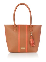 Dickins And Jones Harbury Tote Handbag Tan