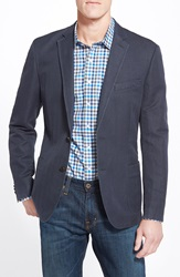 Rodd Gunn 'Routley Avenue' Classic Fit Linen And Cotton Sport Coat Navy