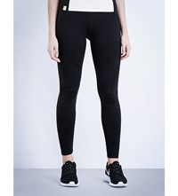 Monreal London Biker Jersey Leggings Black