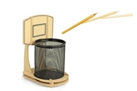 Cool Basketball Stand Pencil Holder Hallomall Home And Garden On Artfire
