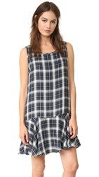 Bb Dakota Reyes Plaid Dress Army Green