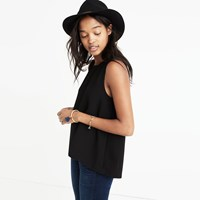 Madewell Daynight Split Back Tank Top