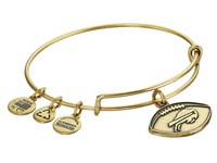 Alex And Ani Nfl Buffalo Bills Football Bangle Rafaelian Gold Charms Bracelet