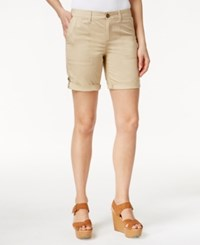 Tommy Hilfiger Relaxed Fit Cargo Shorts Travelers Khaki