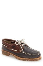 Timberland Men's 'Authentics' Boat Shoe Forged Iron