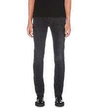 Burberry Faded Slim Fit Tapered Jeans Black
