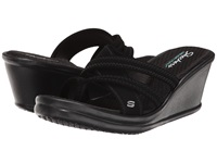 Skechers Rumblers Young At Heart Black Women's Sandals