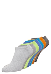 Camano 7 Pack Socks Turquoise Fog Lime Light Green