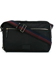Paul Smith Zip Up Shoulder Bag Black