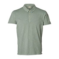 Selected Homme Alfred Polo Shirt Sea Spray Dark Sapphire