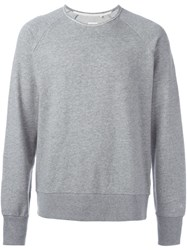 Rag And Bone Raglan Sleeve Sweatshirt Grey