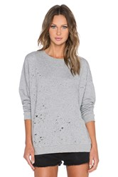 Cheap Monday Fray Sweatshirt Light Gray