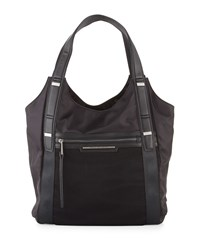 French Connection Indy Nylon Tote Bag Black