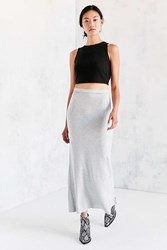 Silence And Noise Cypress Cozy Midi Skirt Grey