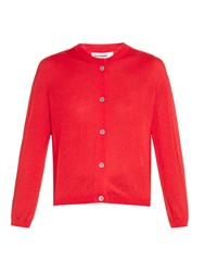 Jil Sander Cashmere And Silk Blend Cardigan
