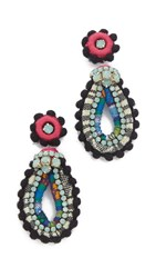 Deepa Gurnani Mischa Earrings Multi
