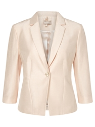 Planet Seashell 3 Button Jacket Oyster