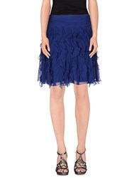 Ralph Lauren Black Label Skirts Knee Length Skirts Women Dark Blue