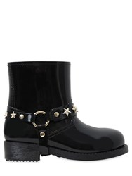 Red Valentino 40Mm Star Studded Rubber Boots