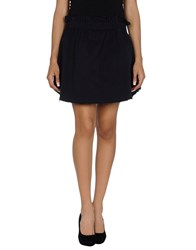 Truenyc. Skirts Mini Skirts Women Dark Blue