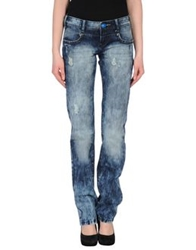 Desigual Denim Pants Blue