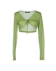Cristinaeffe Collection Knitwear Wrap Cardigans Women Acid Green