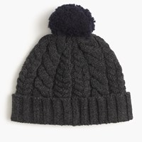 J.Crew Heathered Lambswool Beanie Hat