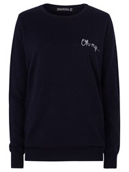 Sugarhill Boutique Nita Oh My Sweater Navy