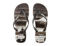 Havaianas Top Photoprint Sandal Black White Men's Sandals