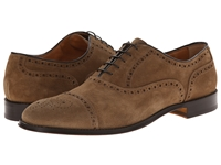Doucal 'S Suede Perforated Captoe Oxford