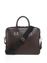 Dunhill Cadogan Slim Leather Briefcase No Color