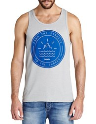 Bench Classic Printed Tank Grey