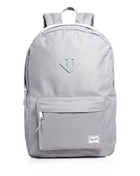 Herschel Supply Co. Heritage Backpack Grey Micro Dot Polka