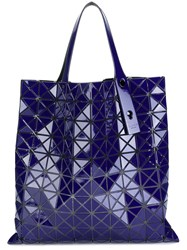 Issey Miyake Bao Bao Geometrically Structured Shopping Bag Blue