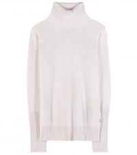 Loro Piana Glace Cashmere Turtleneck Sweater Neutrals