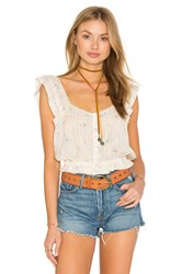 Free People Penny Lane Top Ivory