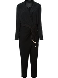 Jay Ahr Rope Detail Jumpsuit Black